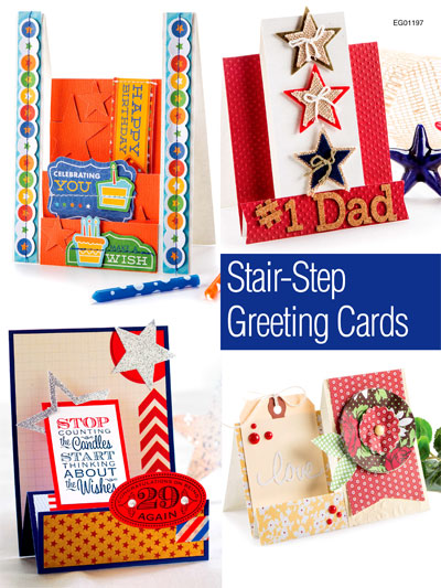 Stair-Step Greeting Cards