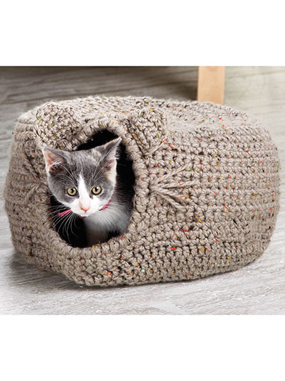 ANNIE'S SIGNATURE DESIGNS: Cat Igloo Crochet Pattern