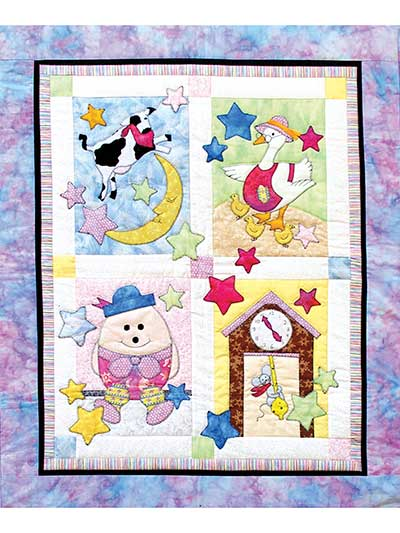 Quilt Patterns - Fairy Tale Baby Quilt Pattern