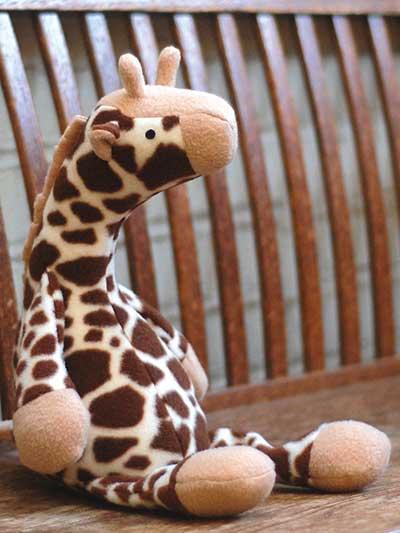 Jeremy Giraffe Sewing Pattern