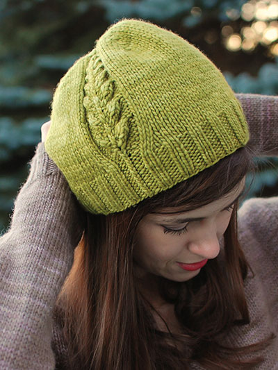 Accessory Knitting Downloads Perennial Hat Knit Pattern