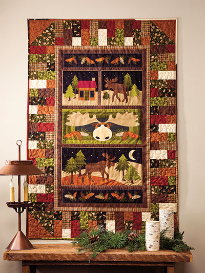EXCLUSIVELY ANNIE'S QUILT DESIGNS The Goto 40 Panel Quilt Pattern Adorable Quilt Patterns Using Panels