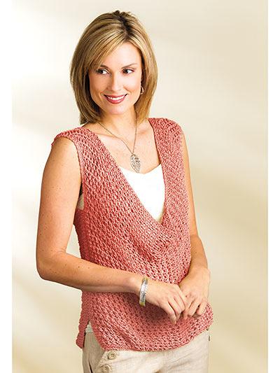 New Knitting Patterns Indus Tank Top Knit Pattern