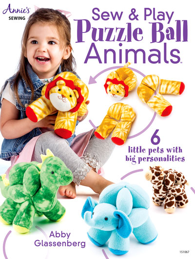 Sew and Play Animal Puzzle Balls Sewing Pattern Preview