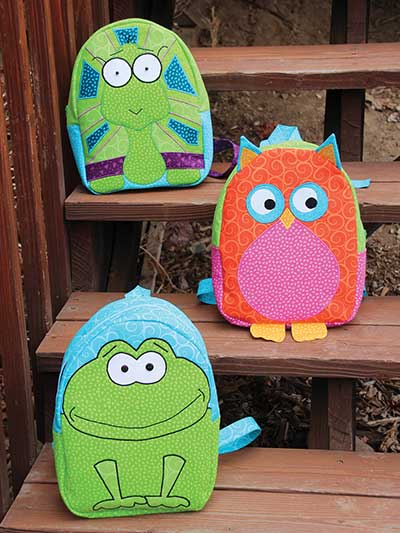Boutique Backpacks One - From the Swamp Sewing Pattern