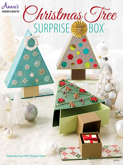 Christmas tree surprise boxes