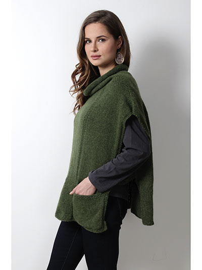 Poncho Knitting Patterns For Beginners : Wraps & Shawls Knitting Downloads - Page 1