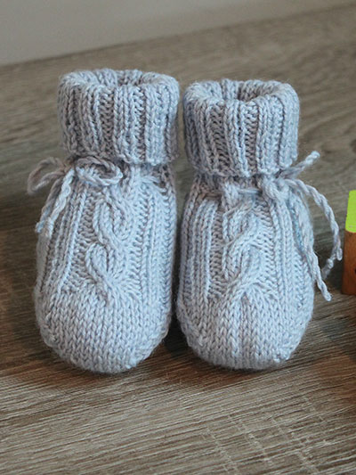 Knit Patterns For Babies Children Knitted Baby Booties Socks