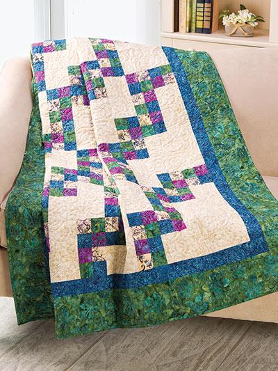 Exclusively Annies Quilt Designs Zigzag Four Patch Quilt Pattern