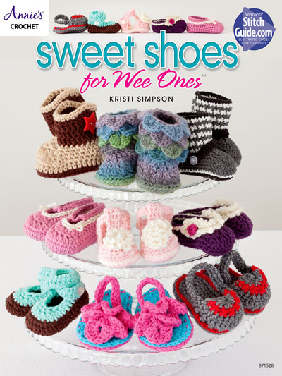 Sweet Shoes to Crochet for Baby