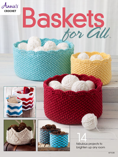 Baskets for All & Crochet - Baskets for All - #A871530