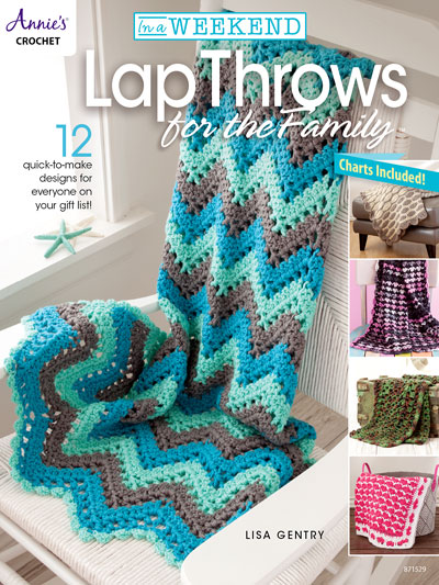 In a Weekend: Lap Throws for the Family Crochet Pattern Book