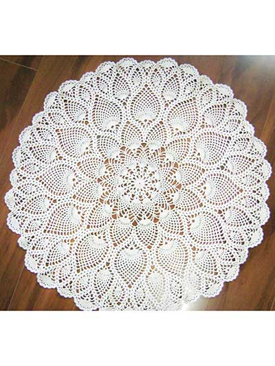Pineapple Perfection Doily Crochet Pattern