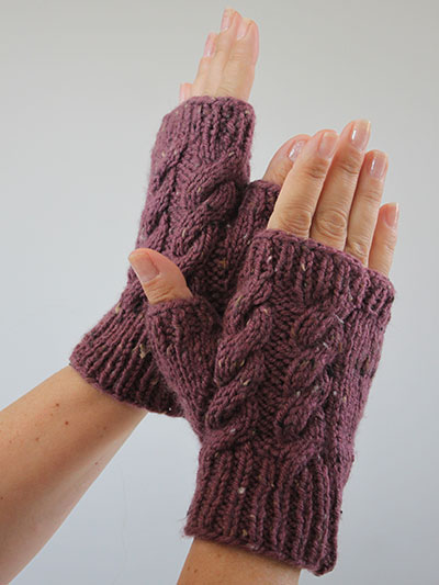 New Knitting Patterns Unger Knit Mitts Pattern