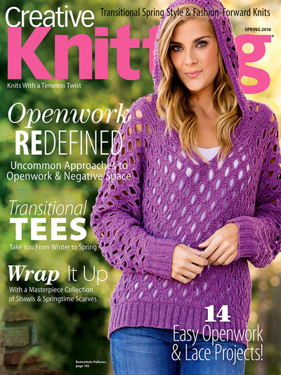 Creative Knitting Spring 2016