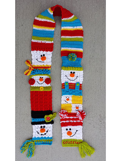 Free Crochet Snowman Pattern - Grace and Yarn | 533x400