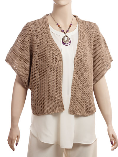 Crochet Cardigan Vest Patterns Short Sweet Sweater Crochet Pattern