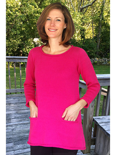 A-Line Tunic to Knit knitting pattern