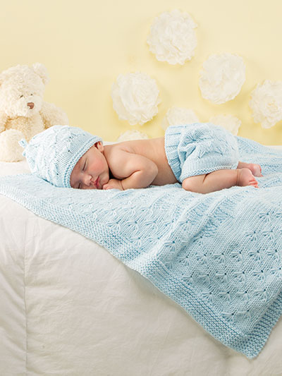 Florious baby knit set
