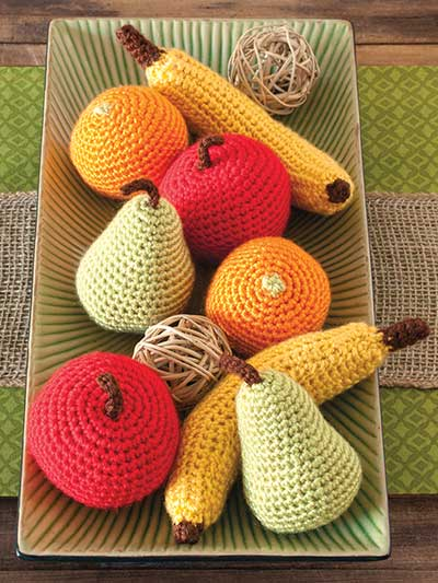 Fruit Bowl Set Crochet Pattern