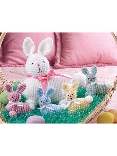 18 Adorable Easter Crochet Patterns | My Poppet Makes | 533x400