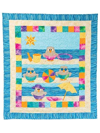new quilt patterns beach hoots quilt pattern