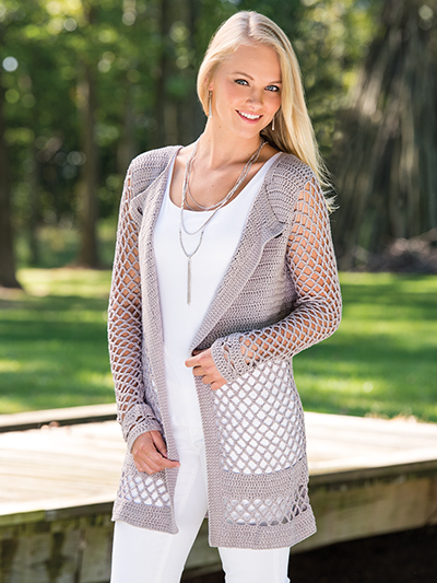 Crochet Patterns Velana Cardigan Crochet Pattern