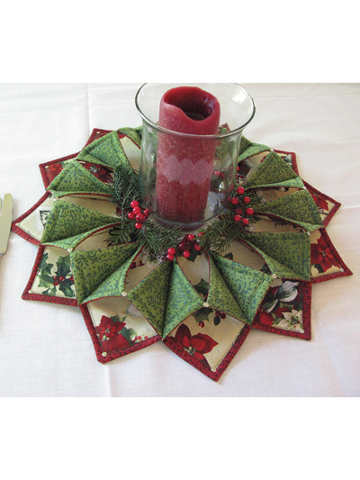 Fold N Stitch Wreath Table Topper Sewing Pattern