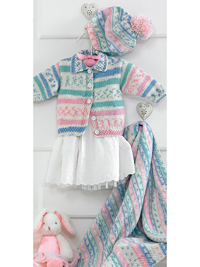 Baby set pattern for boys and girls
