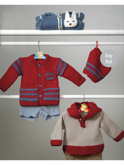 Outdoor Suit, Jacket, Hat & Top Knit Patterns