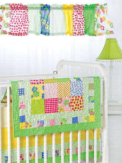 EXCLUSIVELY ANNIE'S QUILT DESIGNS: Bright & Charming Nursery Set Pattern