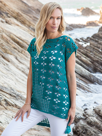 Foxy TEE Summer Crochet Pattern download