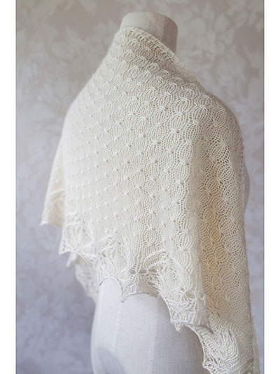 One Skein Knit Patterns Puaka Shawlette Knit Pattern