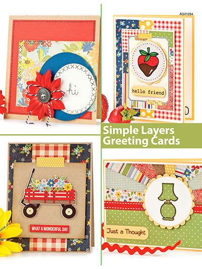 Simple Layers Greeting Cards