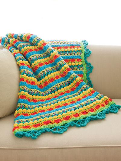 New Crochet Patterns Candy Gram Afghan Crochet Pattern
