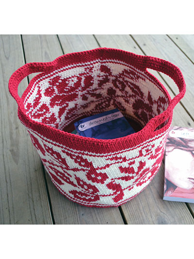 Crochet Patterns Rose Tote Crochet Pattern