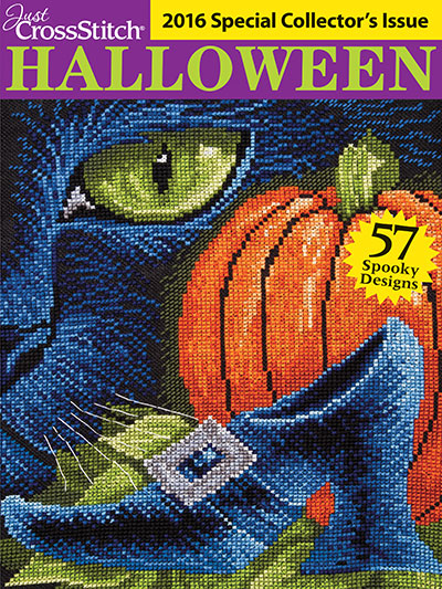 Just CrossStitch<br /> Halloween 2016