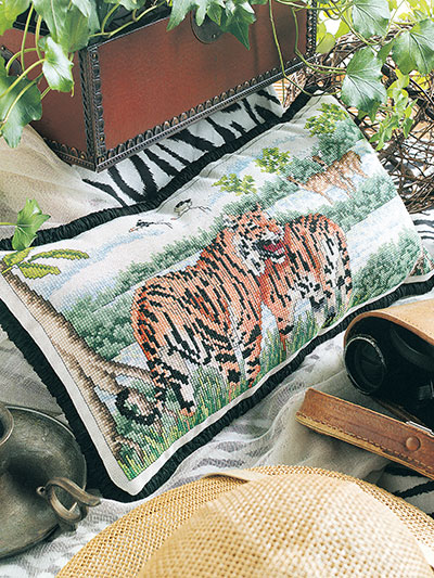 Tiger Territory Cross Stitch Pattern