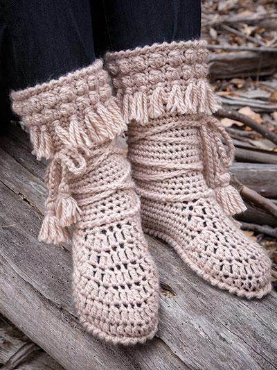 New Crochet Patterns Annies Signature Designs Mukluk Crochet