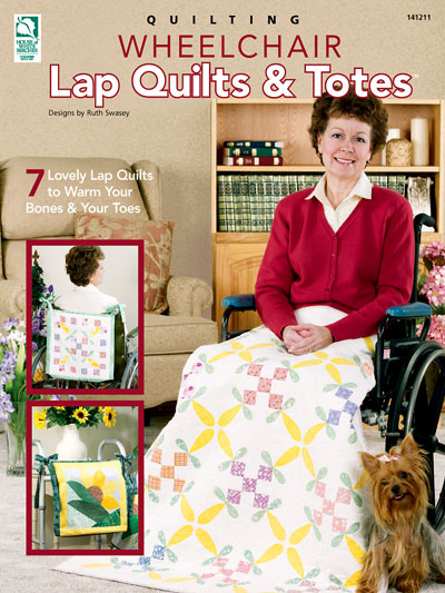Quilting Wheelchair Lap Quilts and Totes Patterns