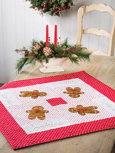 EXCLUSIVELY ANNIE'S QUILT DESIGNS: Sugar & Spice Table Topper Pattern