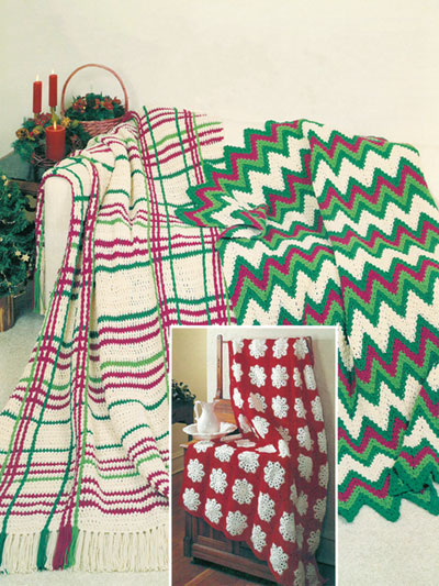 Crochet - Patterns - Out-of-Print Patterns - Crocheted Christmas ...