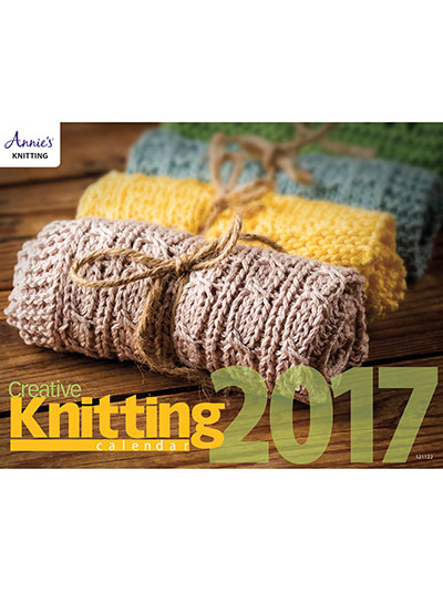 Creative Knitting Patterns Calendar for 2017 with all new patterns to knit