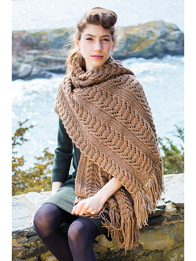 Knitting Patterns Supplies Yew Wrap Knit Pattern