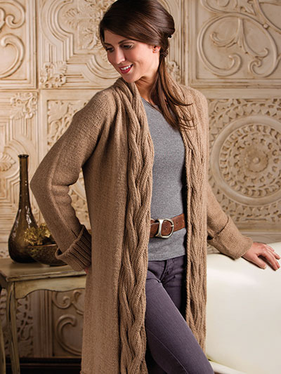Cardigan Jacket Knit Patterns Urban Flats Jacket Knit Pattern
