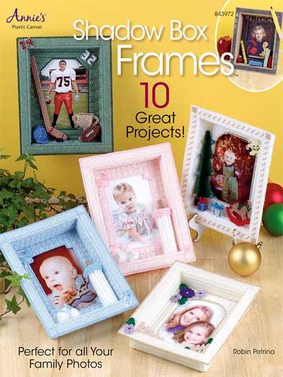 Plastic Canvas Gift Designs Shadow Box Frames