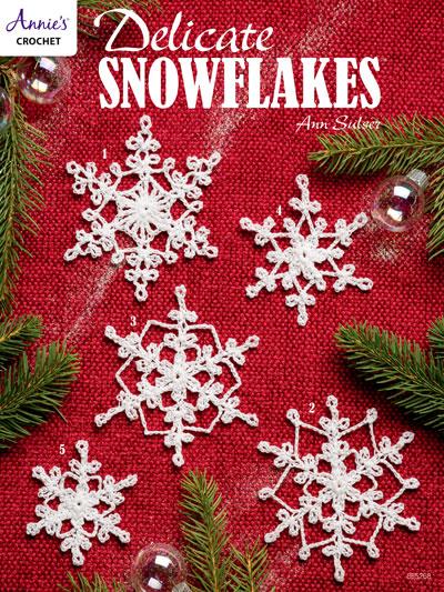 Crochet Delicate Snowflakes