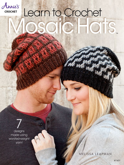 Learn To Crochet Patterns Learn To Crochet Mosaic Hats Crochet
