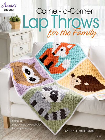 Crochet Patterns Corner To Corner Lap Throws For The Family