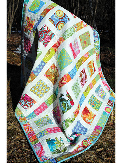 Layer Cake Quilt Patterns Flowers In The Sunshine Quilt Pattern